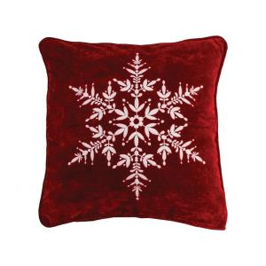 """Snowflake - 20x20"""" Pillow Cover Only"""