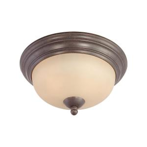 Triton - Two Light Flush Mount