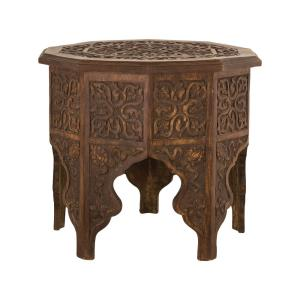 Anglo-Indian - 20 Inch Hand-carved Table
