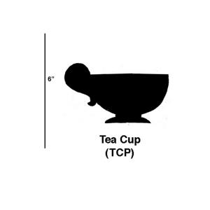 Tea Cup - 5.5- Inch Cookie Cutter (Set of 6)