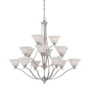 Prestige - Fifteen Light 3-Tier Chandelier