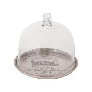 French Winery - 6.75 Inch Tray with Cloche