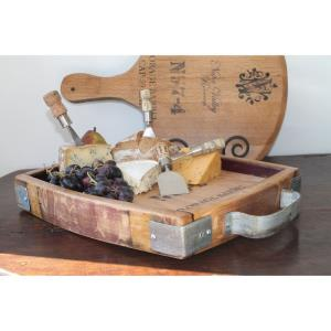 "WB Wine Cask - 15"" Cheese Tray"