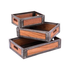 Urban Farmhouse - 18 Inch Trays (Set of 3)