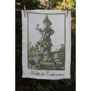 Habit de Cabaretier - 27 Inch Towel
