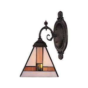 Mix-N-Match - 1 Light Wall Sconce in Traditional Style with Victorian and Vintage Charm inspirations - 10 Inches tall and 4.5 inches wide