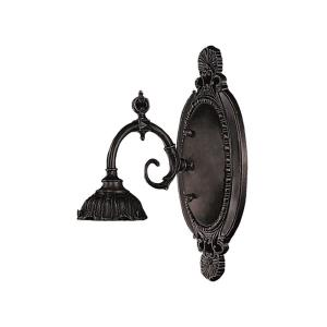 Mix-N-Match - 1 Light Wall Sconce in Traditional Style with Victorian and Vintage Charm inspirations - 8 Inches tall and 5 inches wide