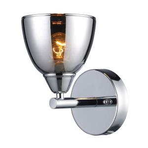 Reflections - 1 Light Wall Sconce in Modern/Contemporary Style with Art Deco and Luxe/Glam inspirations - 8 Inches tall and 5 inches wide