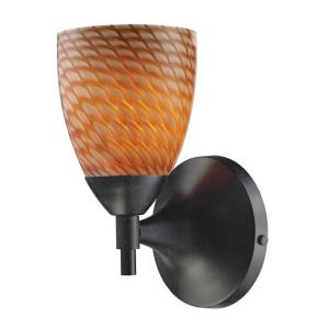 Celina - 1 Light Wall Sconce in Transitional Style with Boho and Eclectic inspirations - 9 Inches tall and 5.5 inches wide