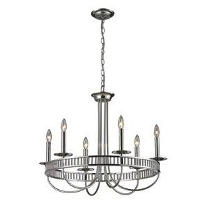 Braxton - Six Light Chandelier