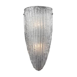 Luminese - 2 Light Wall Sconce in Traditional Style with Luxe/Glam and Art Deco inspirations - 14 Inches tall and 7 inches wide