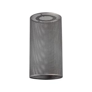 "Cast Iron Pipe - 7"" Optional Perforated Shade"