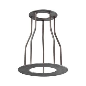 Cast Iron Pipe - 8 Inch Optional Cage Shade