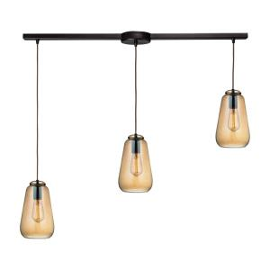 Orbital - Three Light Linear Pendant