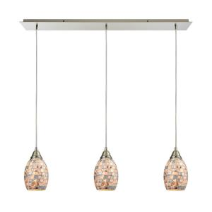 Capri - Three Light Linear Mini Pendant