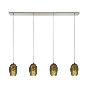 Tallula - Four Light Linear Pendant