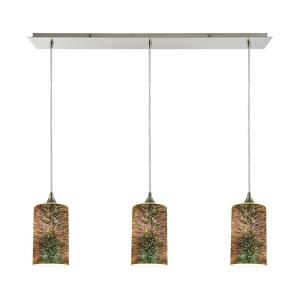 Illusions - Three Light Linear Mini Pendant