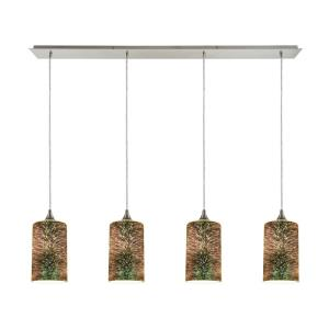 Illusions - Four Light Linear Pendant