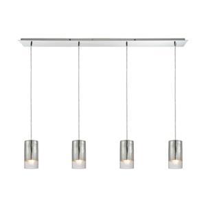 Tallula - Four Light Linear Pendant