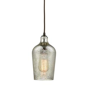 Hammered Glass - One Light Pendant