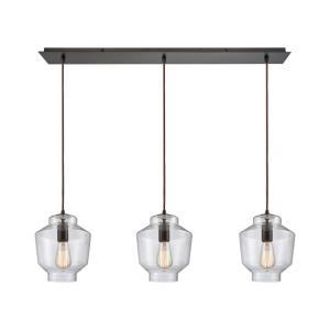 Barrel - Three Light Linear Mini Pendant