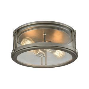 Coby - Two Light Flush Mount