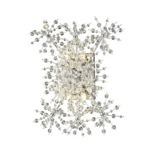 Snowburst - 4 Light Wall Sconce in Modern/Contemporary Style with Luxe/Glam and Mid-Century Modern inspirations - 20 Inches tall and 14 inches wide