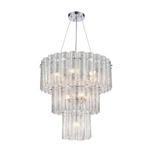 Glass Symphony - Eleven Light Chandelier