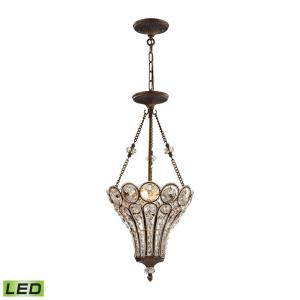 Christina - 13 Inch 14.4W 3 LED Chandelier