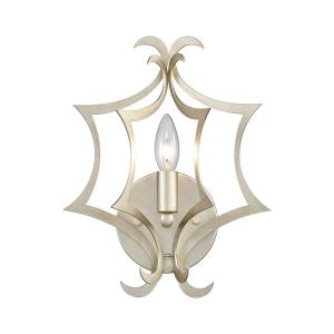 Delray - 1 Light Wall Sconce in Transitional Style with Coastal/Beach and Nature/Organic inspirations - 13 Inches tall and 10 inches wide