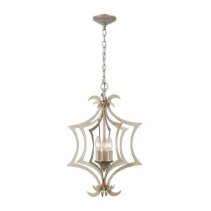 Delray - 3 Light Pendant in Transitional Style with Coastal/Beach and Nature/Organic inspirations - 22 Inches tall and 15 inches wide