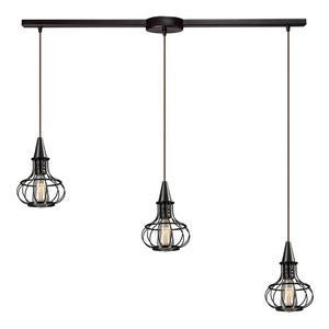 Yardley - Three Light Linear Pendant