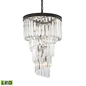 Palacial - 27 Inch 28.8W 6 LED Chandelier