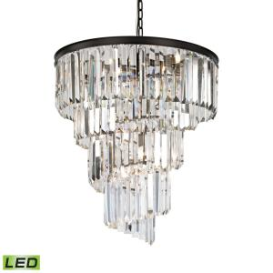 Palacial - 31 Inch 43.2W 9 LED Chandelier