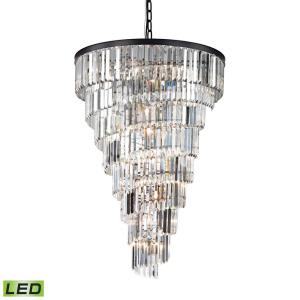 Palacial - 53 Inch 72W 15 LED Chandelier