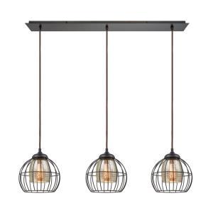 Yardley - Three Light Linear Mini Pendant