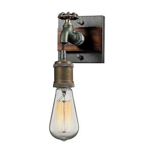 Jonas - 1 Light Wall Sconce in Modern/Contemporary Style with Urban/Industrial and Modern Farmhouse inspirations - 7 Inches tall and 5 inches wide