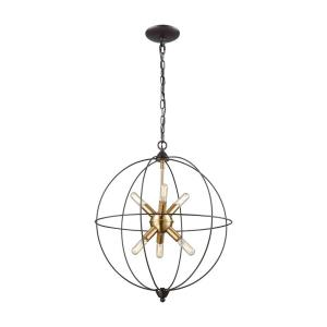 Loftin - Six Light Chandelier