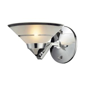 Refraction - 1 Light Wall Sconce in Modern/Contemporary Style with Art Deco and Luxe/Glam inspirations - 5 Inches tall and 7 inches wide