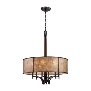 Barringer - 6 Light Chandelier in Traditional Style with Country/Cottage and Southwestern inspirations - 30.5 Inches tall and 24 inches wide