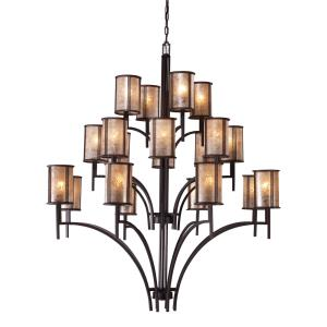 Barringer - Twenty Light Chandelier in Traditional Style with Country/Cottage and Southwestern inspirations - 59 Inches tall and 50 inches wide