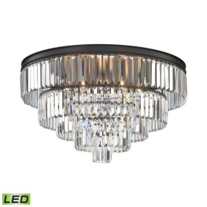 "Palacial - 31"" 28.8W 6 LED Chandelier"