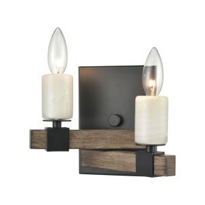 Stone Manor - Two Light Wall Sconce