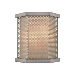 Crestler - 2 Light Wall Sconce in Transitional Style with Art Deco and Urban/Industrial inspirations - 11 Inches tall and 10 inches wide