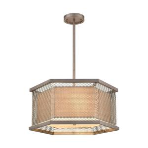 Crestler - Three Light Chandelier