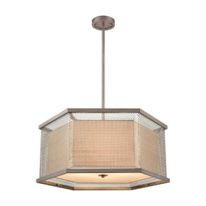 Crestler - Six Light Chandelier