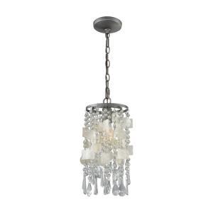 Alexandra - One Light Pendant with Recessed Lighting Kit