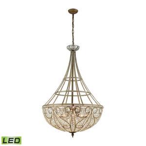 Elizabethan - 45 Inch 48W 10 LED Chandelier