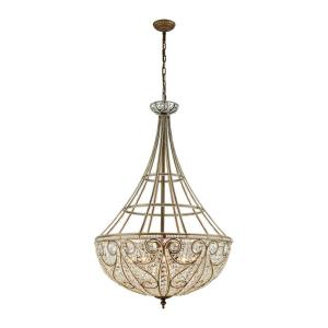 Elizabethan - Ten Light Chandelier