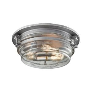 Riley - Three Light Flush Mount